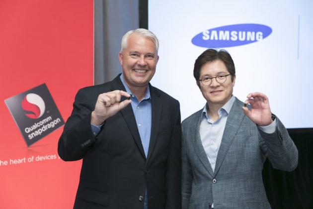 Keith Kressin (Qualcomm) et Ben Suh (Samsung) présentent le Snapdragon 835