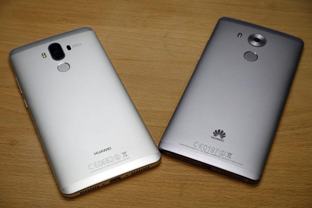 À part le double capteur, peu de différences par rapport au Huawei Mate 8.