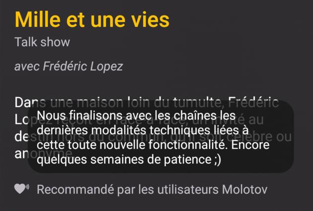 molotov-fonction