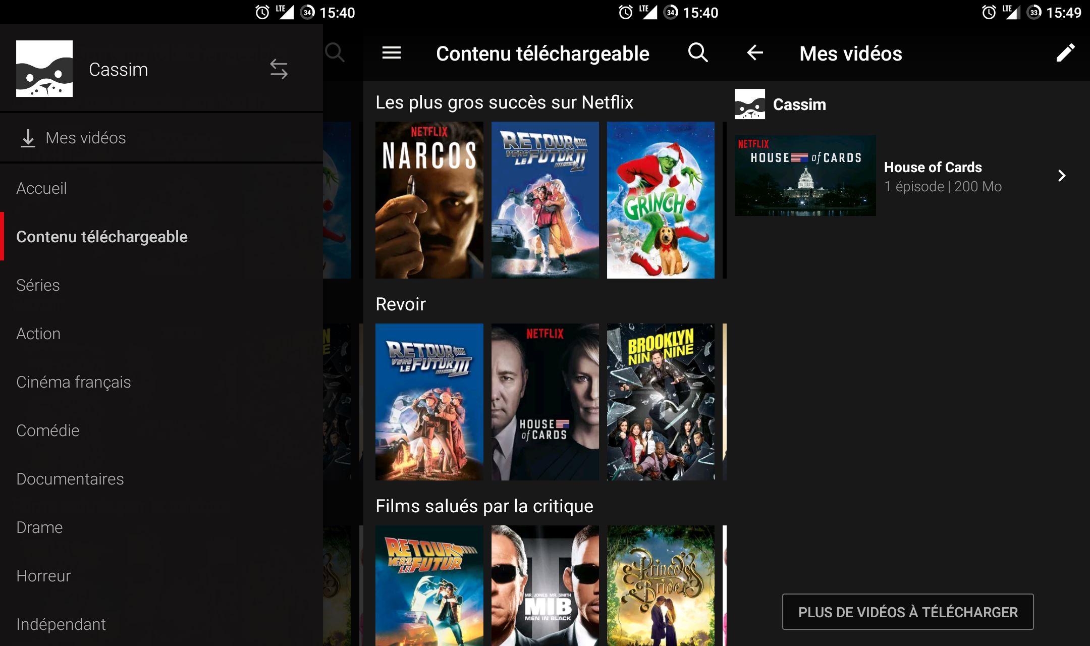 Netflix Hors Ligne