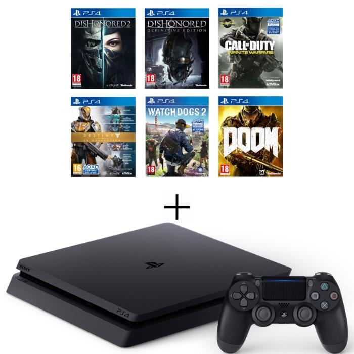 nouvelle-ps4-slim-500-go-6-jeux-dishonored-2