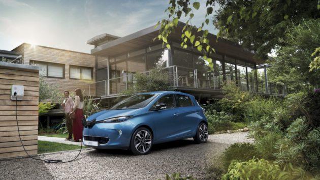 Renault Zoé, toute électrique