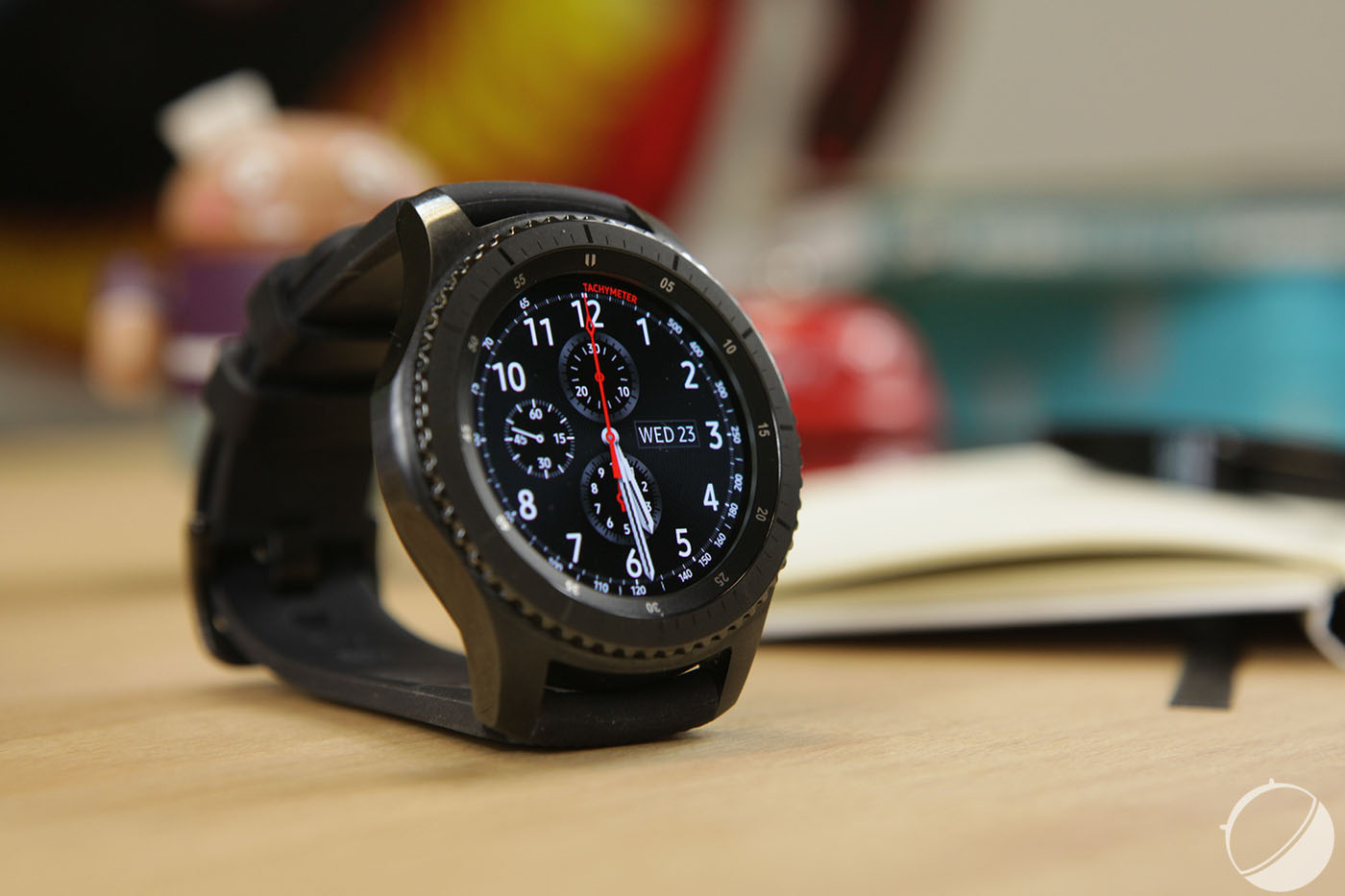 test samsung gear s3 notre avis complet montres bracelet connect s frandroid. Black Bedroom Furniture Sets. Home Design Ideas