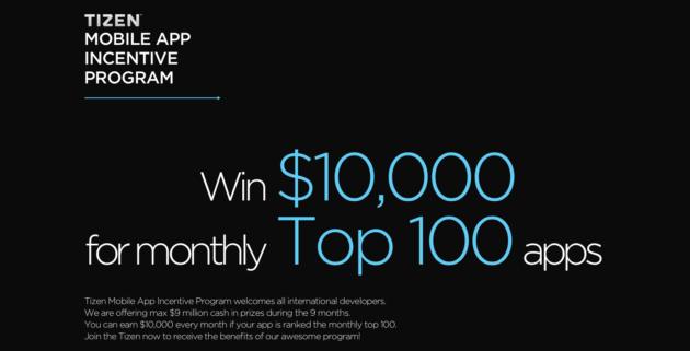 tizen-mobile-app-incentive-program-samsung