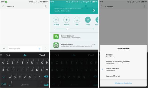 comment changer de clavier sur android tutoriel frandroid. Black Bedroom Furniture Sets. Home Design Ideas