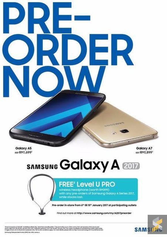 161229 Samsung Galaxy A5 A7 2017 Price Malaysia