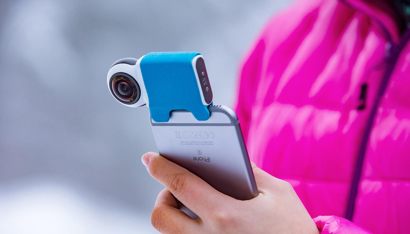 giroptic io une cam ra qui filme 360 degr s pour votre smartphone frandroid. Black Bedroom Furniture Sets. Home Design Ideas