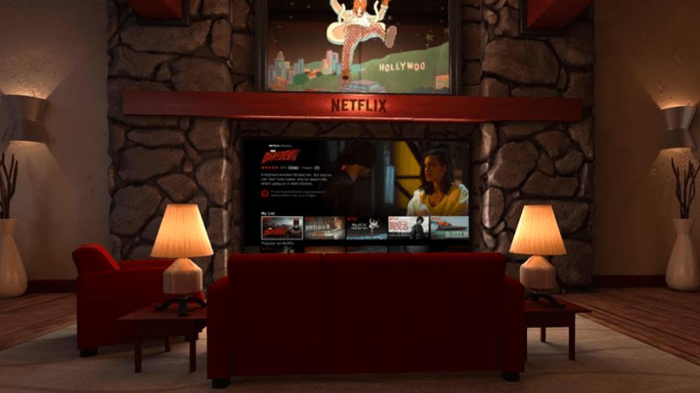 Netflix VR salon