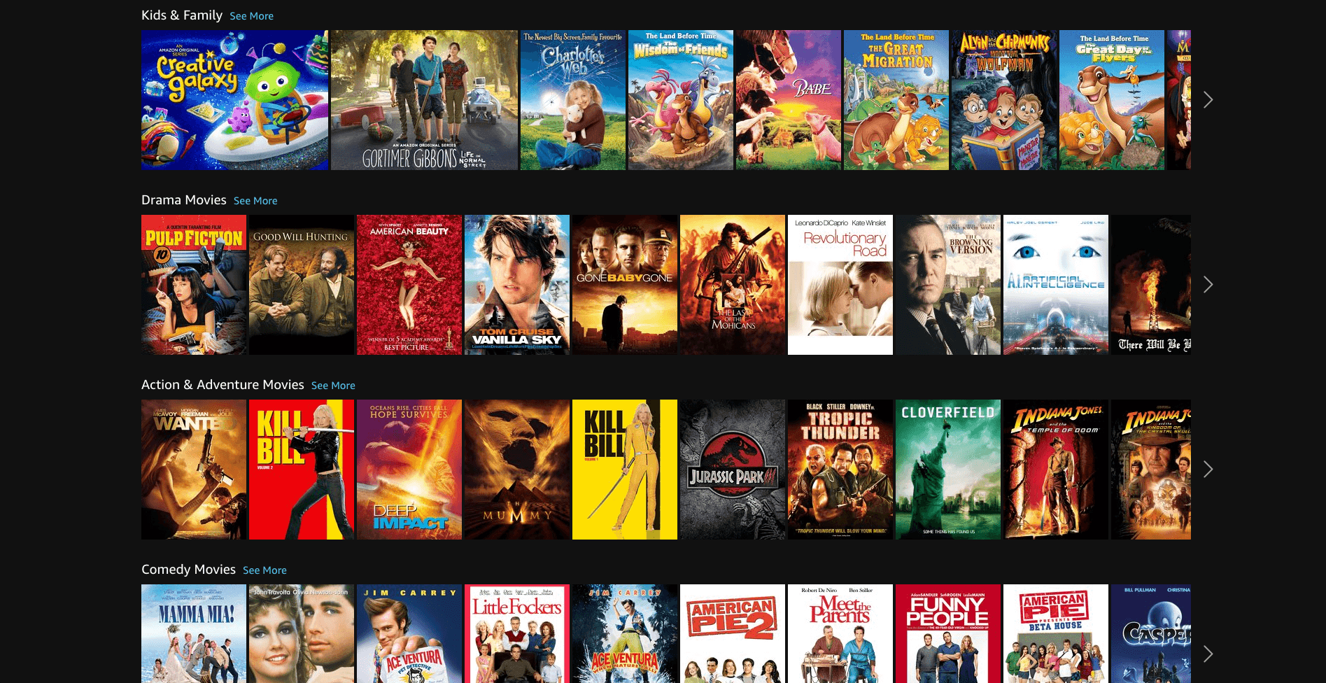 Amazon Prime Video Kids Movies