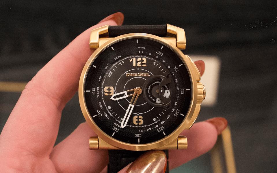5d2d1f3f21d98 Diesel, Armani et Kate Spade   les montres connectées hybrides font ...
