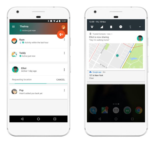 google-contacts-de-confiance-une