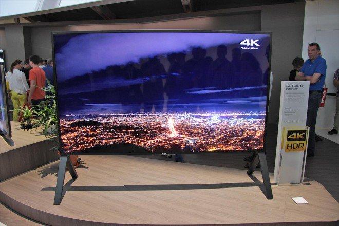 sony zd9 100 pouces de diagonale sous android tv frandroid. Black Bedroom Furniture Sets. Home Design Ideas