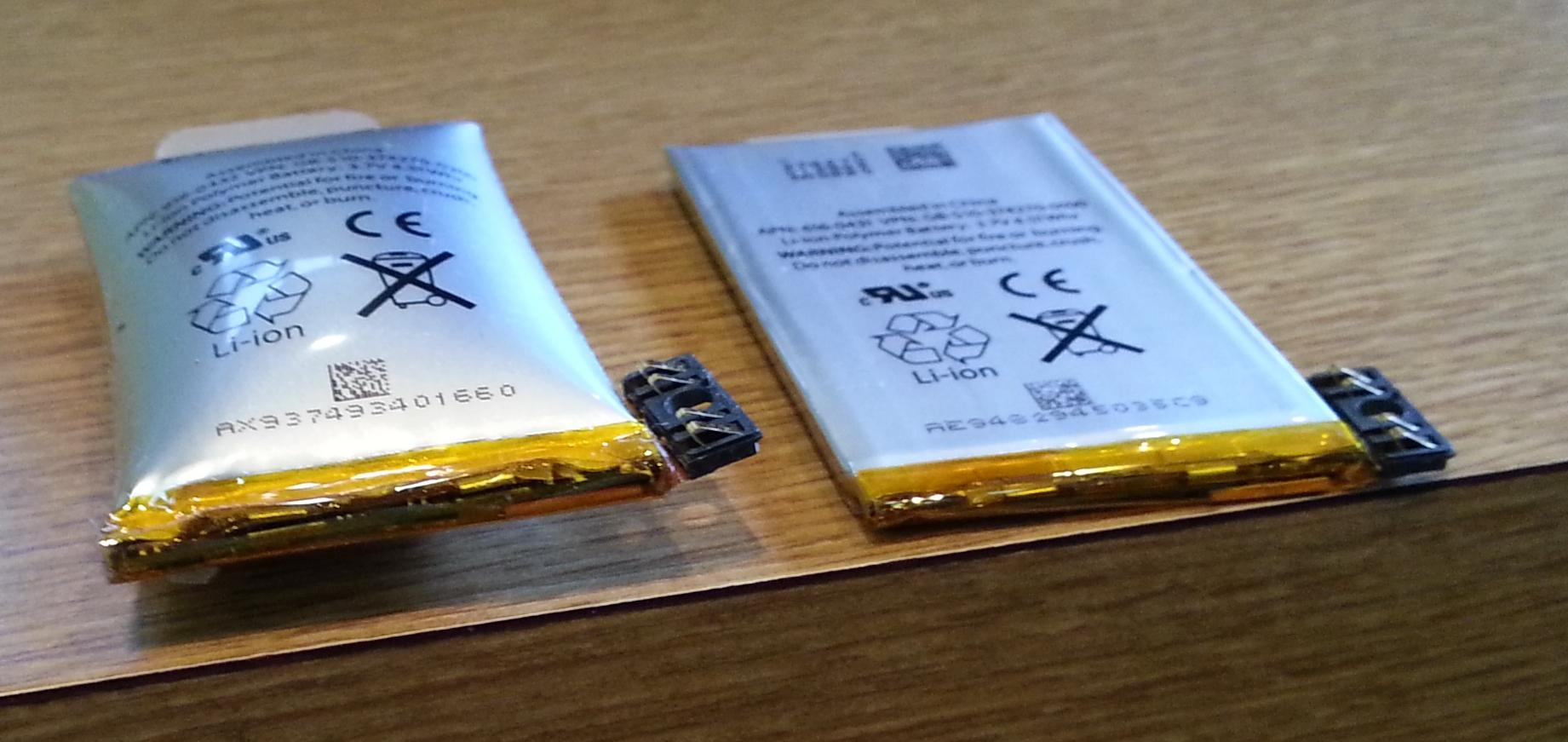 Batterie Gonflee Iphone