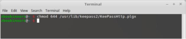 keepasshttp-linux-chmod