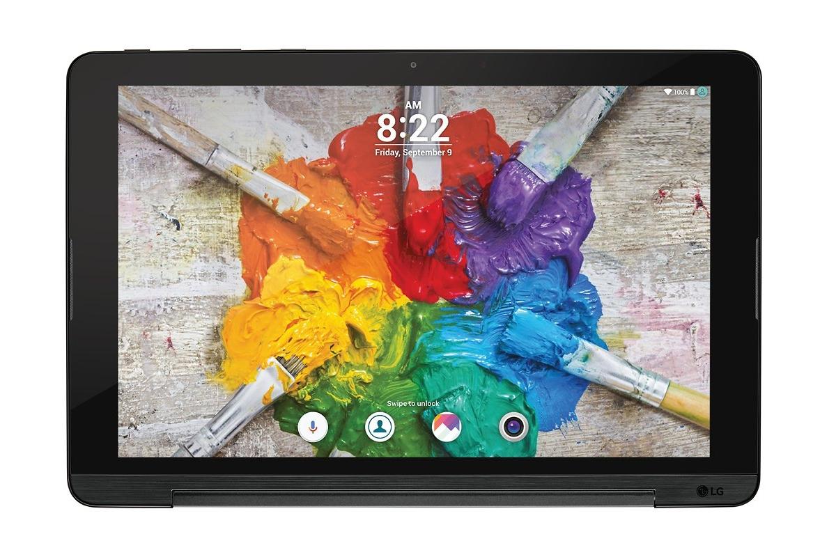 lg g pad iii une tablette android 10 pouces avec pied. Black Bedroom Furniture Sets. Home Design Ideas