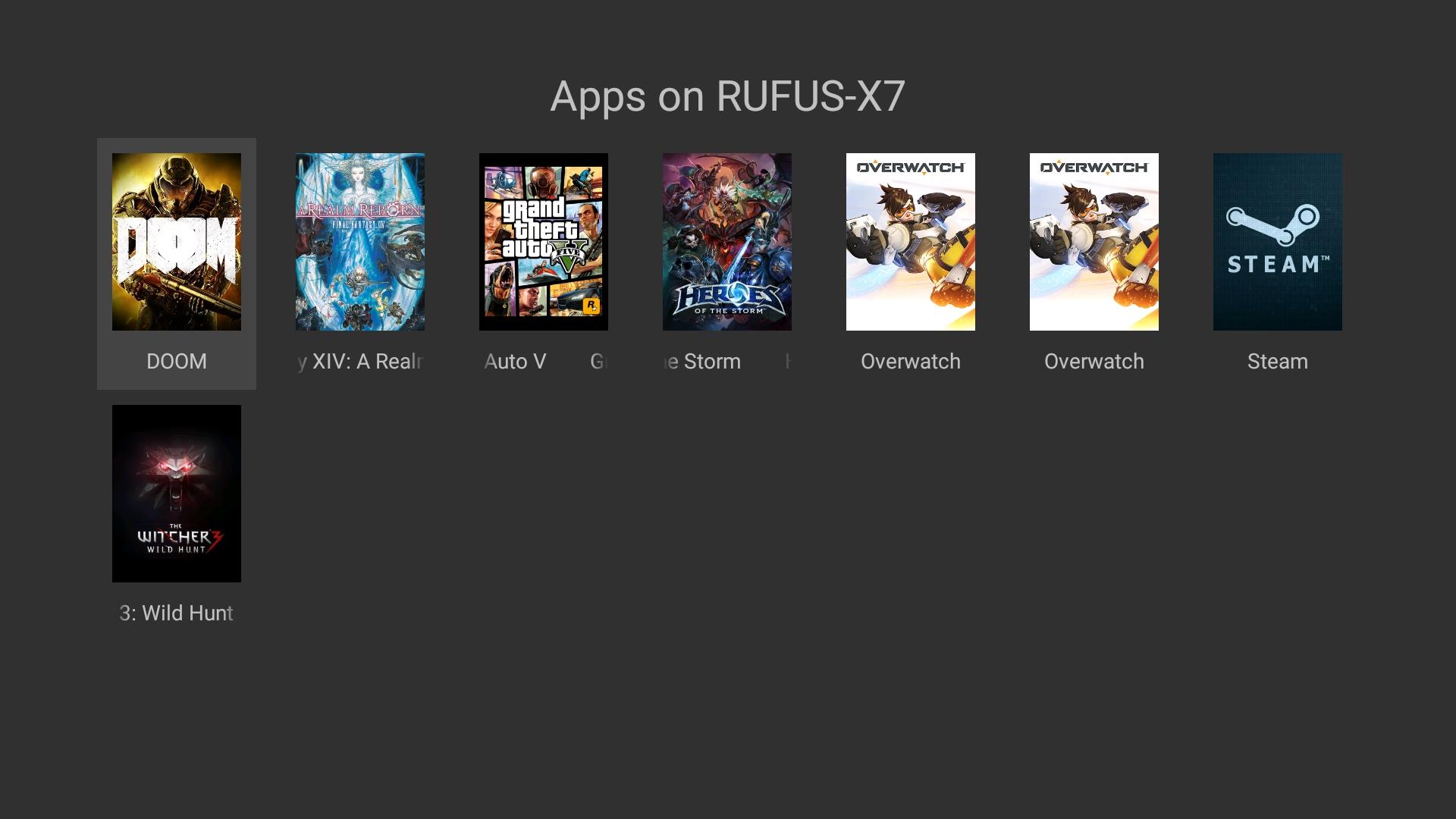 les meilleurs applications et jeux pour android tv frandroid. Black Bedroom Furniture Sets. Home Design Ideas