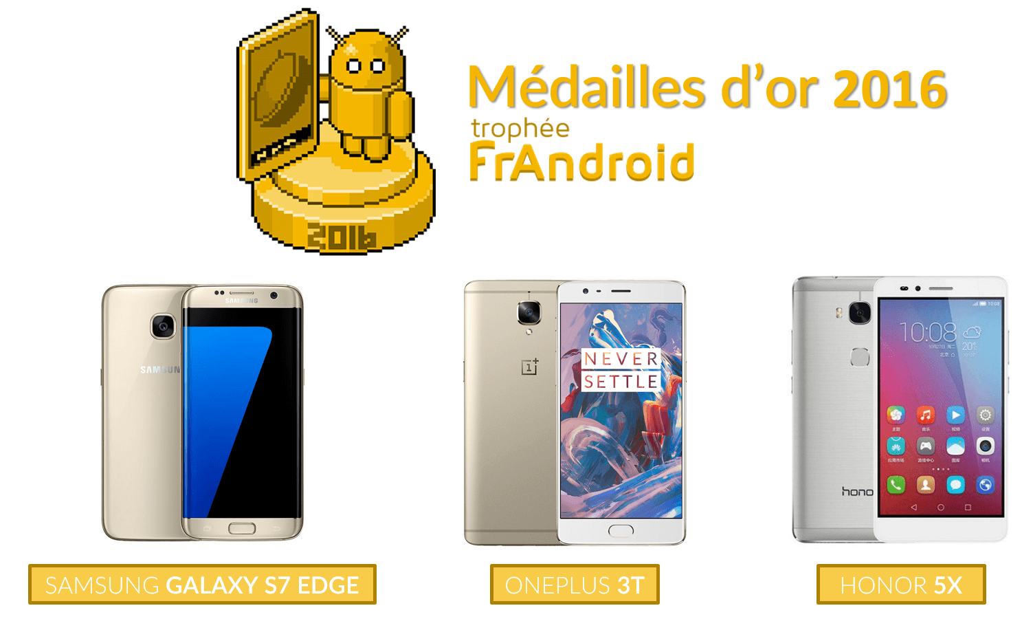 meilleur smartphone android 2016