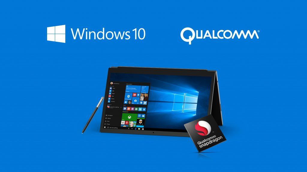 Les SoC Snapdragon compatibles avec Windows 10