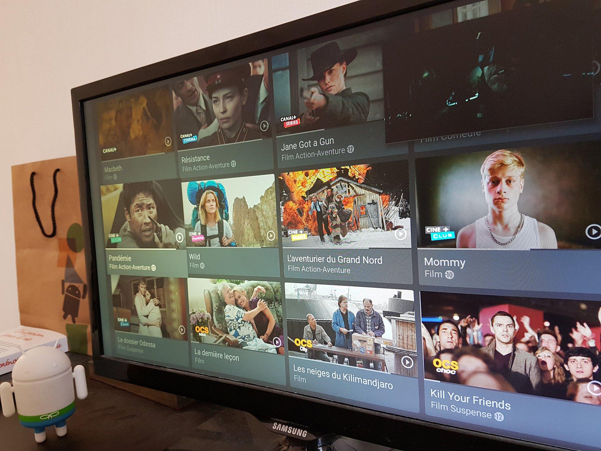 mycanal est disponible sur android tv un concurrent de plus pour molotov frandroid. Black Bedroom Furniture Sets. Home Design Ideas