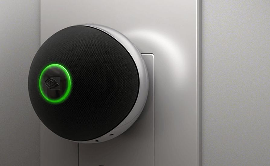 ces 2017 nvidia spot le nouvel appareil domotique de. Black Bedroom Furniture Sets. Home Design Ideas