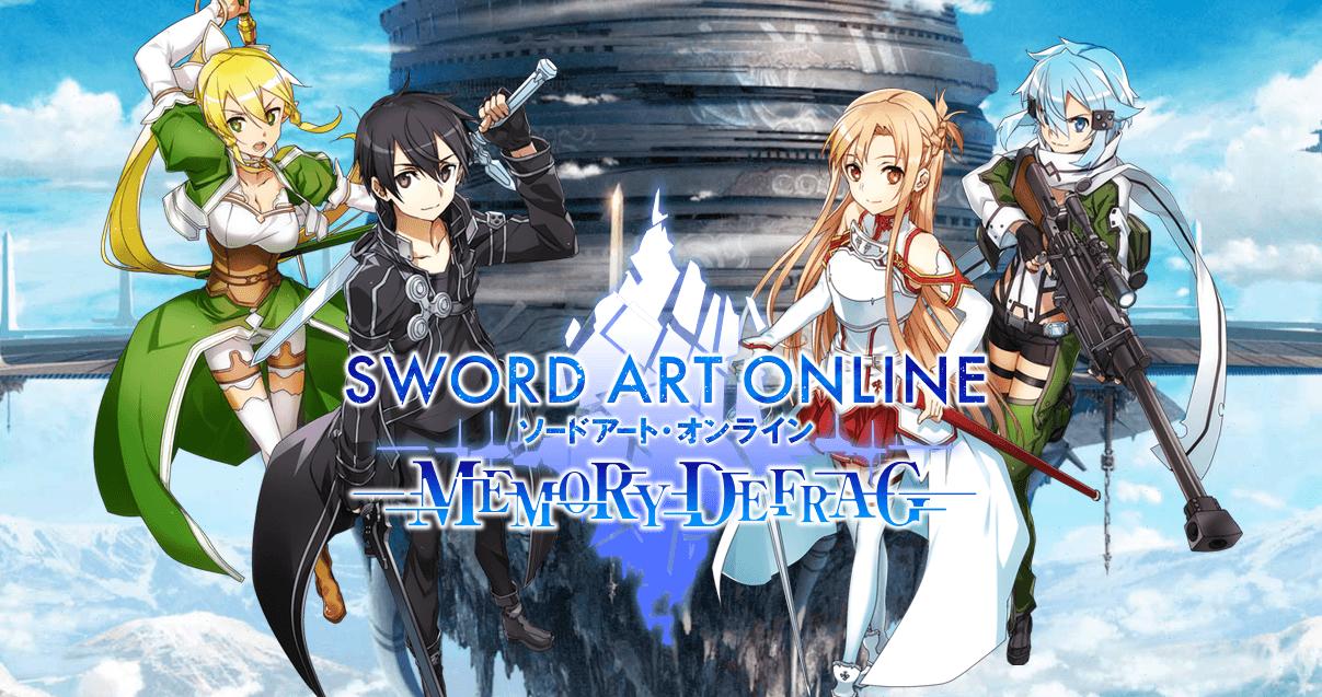 One Line Art Action : Sword art online memory defrag l action rpg sur mobile