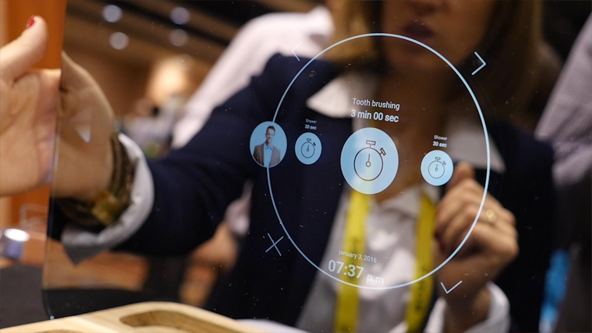 Ces 2017 miliboo ekko un miroir sous android avec un for Miroir connecte