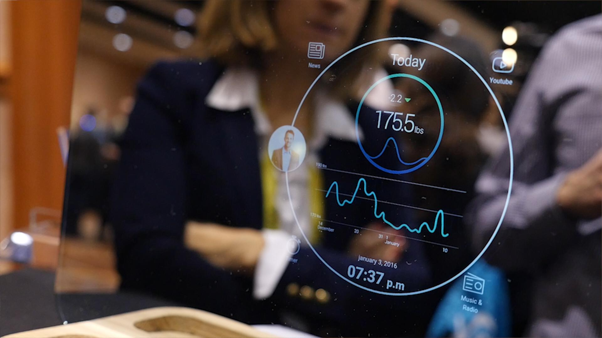 Ces 2017 miliboo ekko un miroir sous android avec un for Raspberry miroir