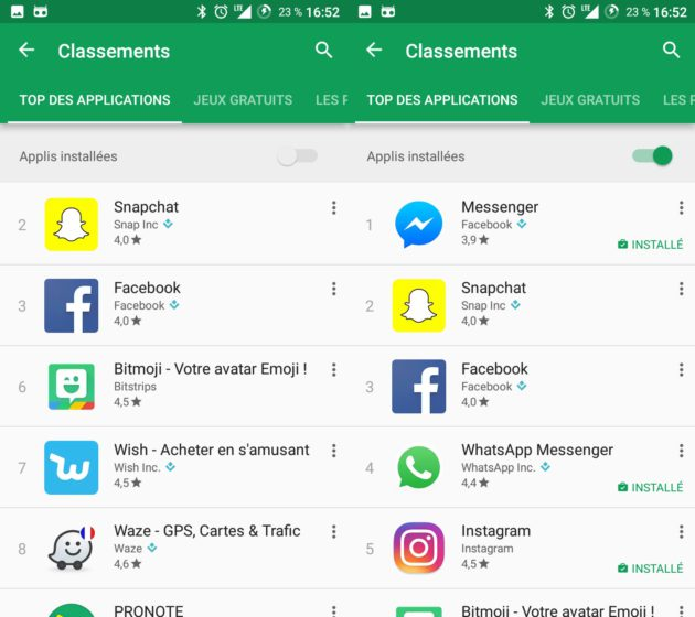 google-play-store-classement-masquer-apps-installee