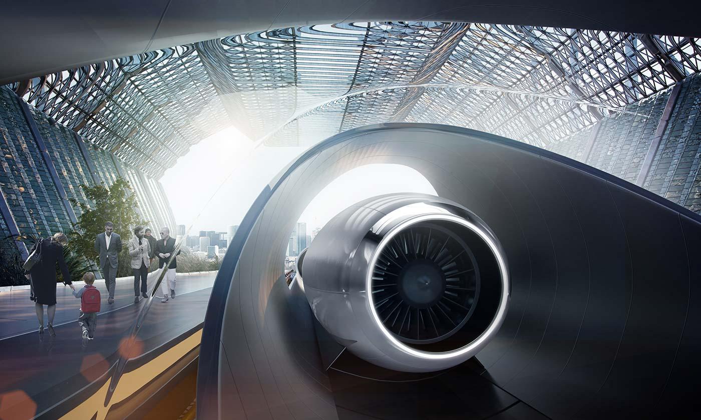 Le développement du train du futur passe par Toulouse — Hyperloop