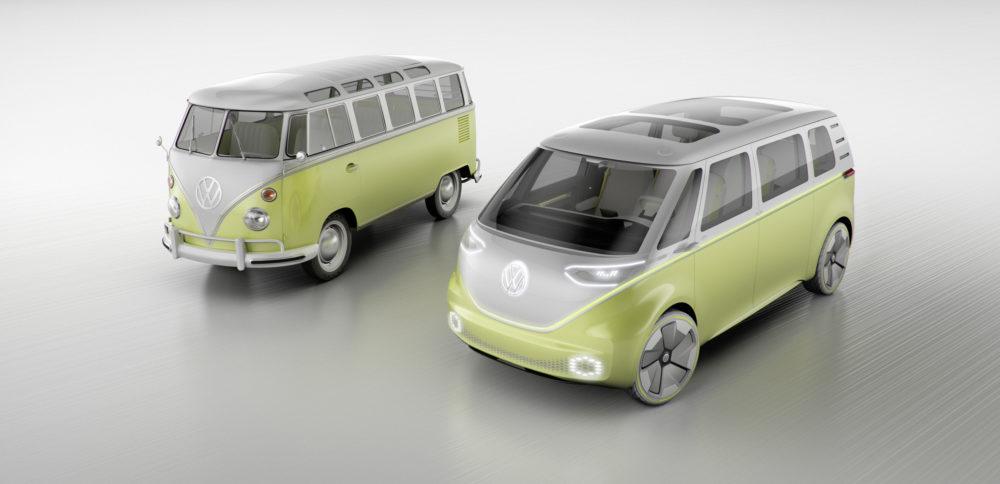passion suv volkswagen le fameux minibus des 60 s revient dans un mod le autonome et lectrique. Black Bedroom Furniture Sets. Home Design Ideas