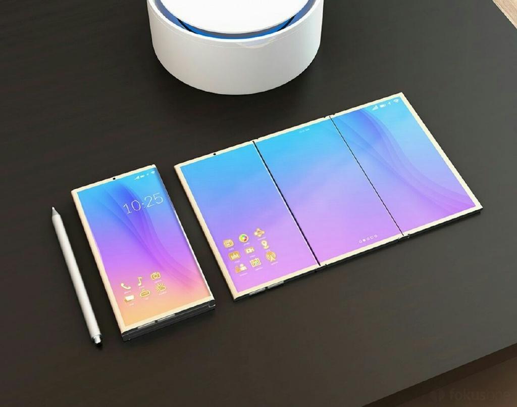 Samsung Galaxy X : le smartphone pliable fait sa première apparition sur le site officiel