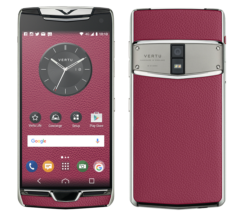 vertu officialise son nouveau constellation un smartphone android 4 100 euros frandroid. Black Bedroom Furniture Sets. Home Design Ideas