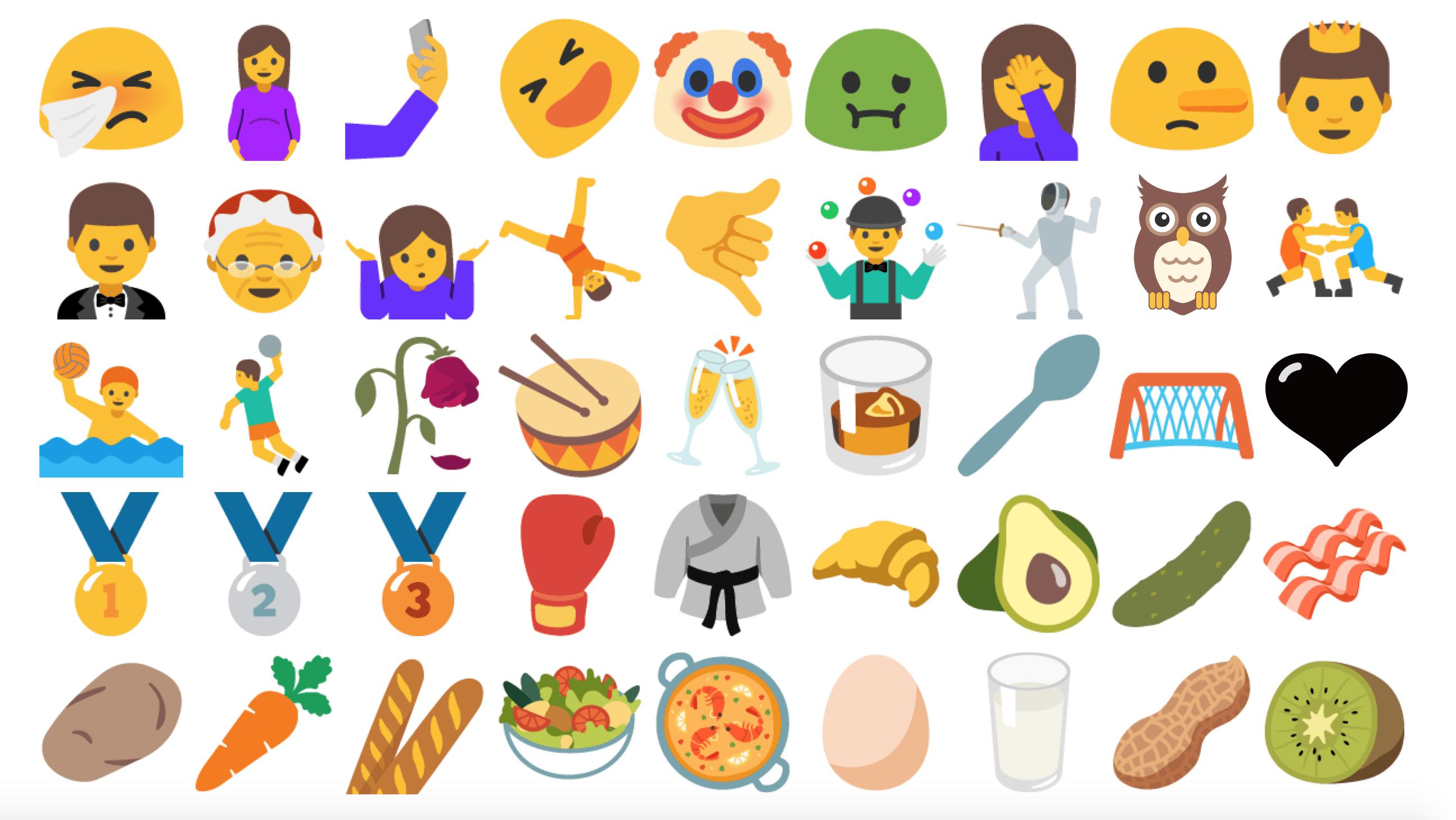 Les Emojis Sur Android Le Problème De Fragmentation En