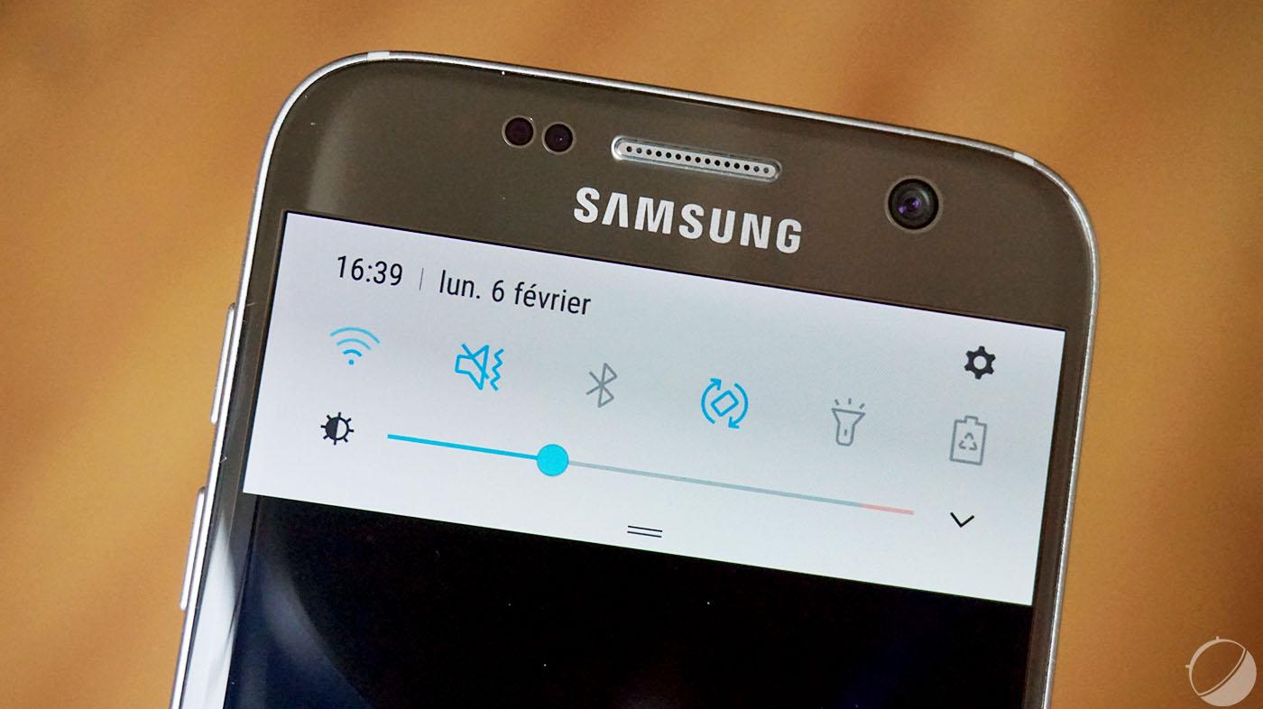Samsung galaxy s7 et s7 edge comment afficher le r glage - Comment se couper les pointes toute seule ...