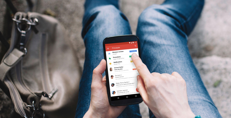 Gmail : les mails dynamiques arrivent sur les apps Android et iOS