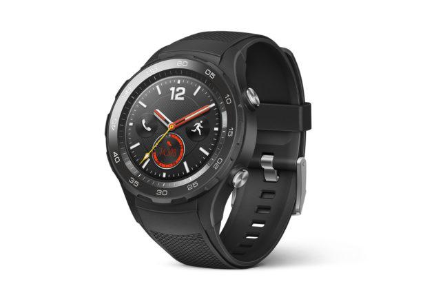 huawei watch 2 la montre 4g autonome officialis e au mwc 2017 frandroid. Black Bedroom Furniture Sets. Home Design Ideas