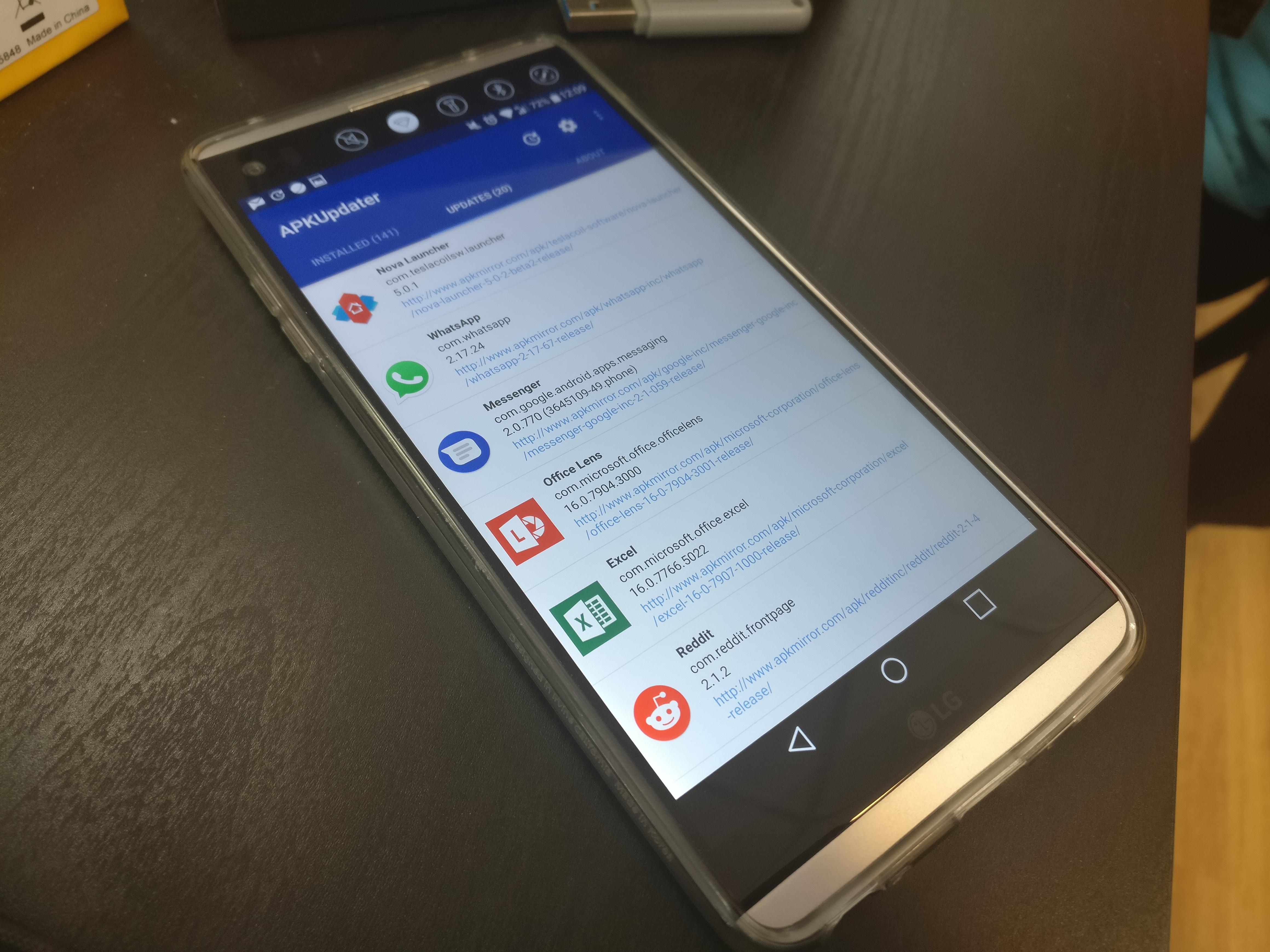 APKUpdater, ou comment mettre à jour ses applications sans le Google