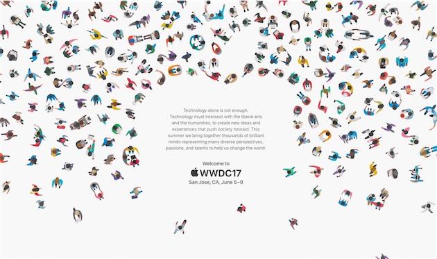 L'Apple WWDC 2017 se tiendra du 5 au 9 juin