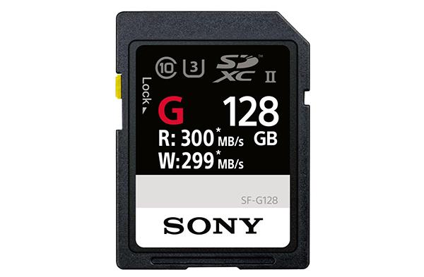 Sony lance la carte SD la plus rapide au monde