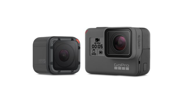 GoPro Hero 5 Black et Hero 5 Session