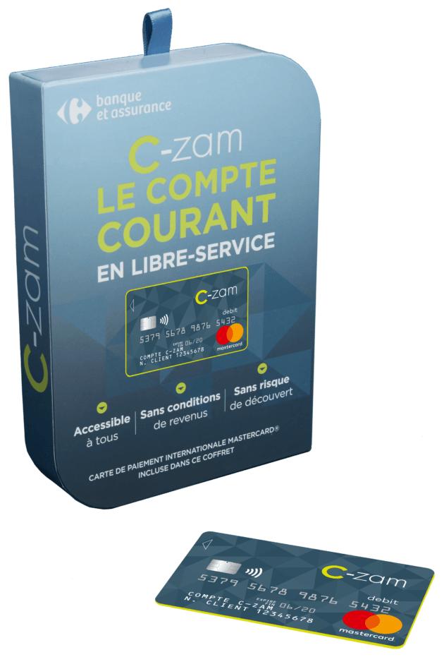 carrefour lance c zam compte courant mobile et en libre service frandroid. Black Bedroom Furniture Sets. Home Design Ideas