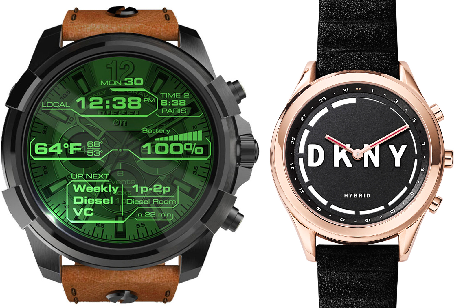 fossil pr voit de lancer 300 variantes de montres android. Black Bedroom Furniture Sets. Home Design Ideas
