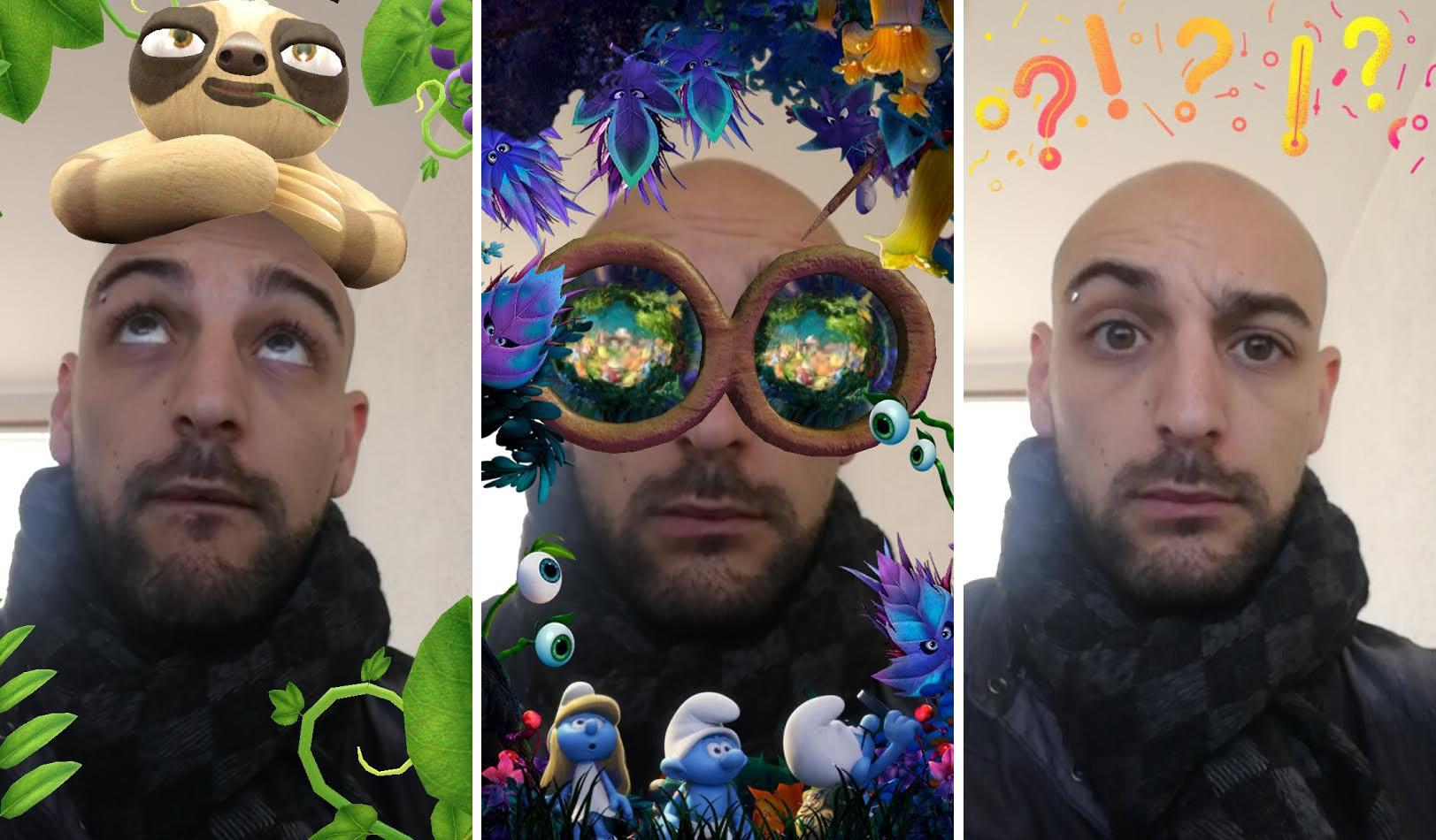 Comment faire marcher les filtres snapchat