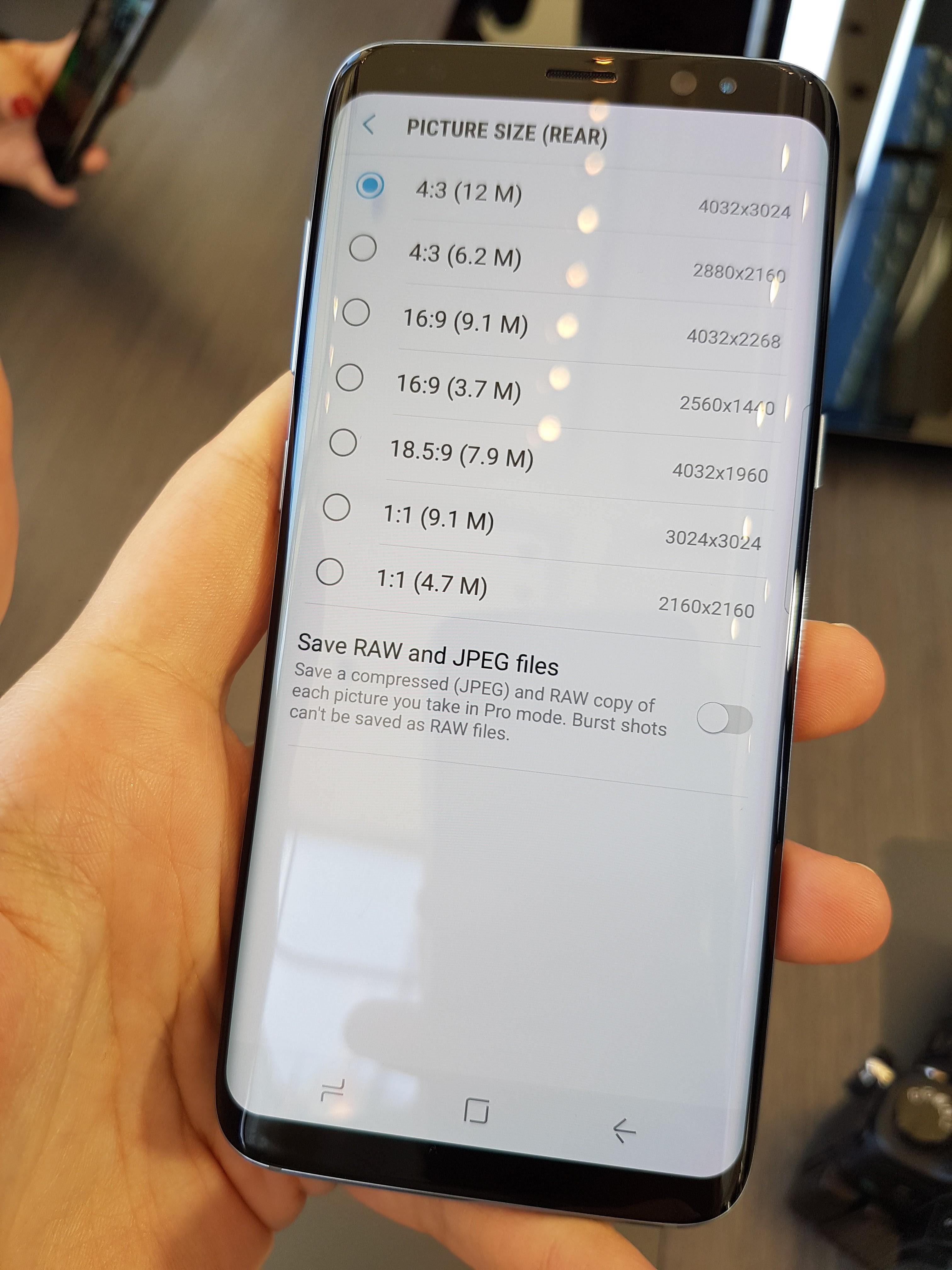Nos Photos Du Samsung Galaxy S8 Et De Son Interface Frandroid