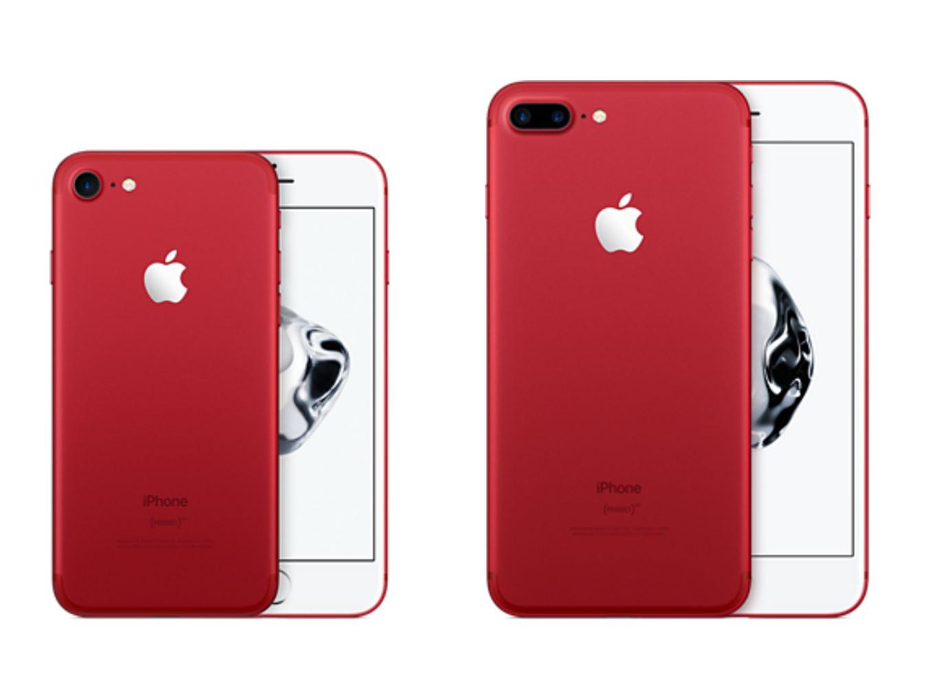apple lance un iphone red pour lutter contre le sida. Black Bedroom Furniture Sets. Home Design Ideas