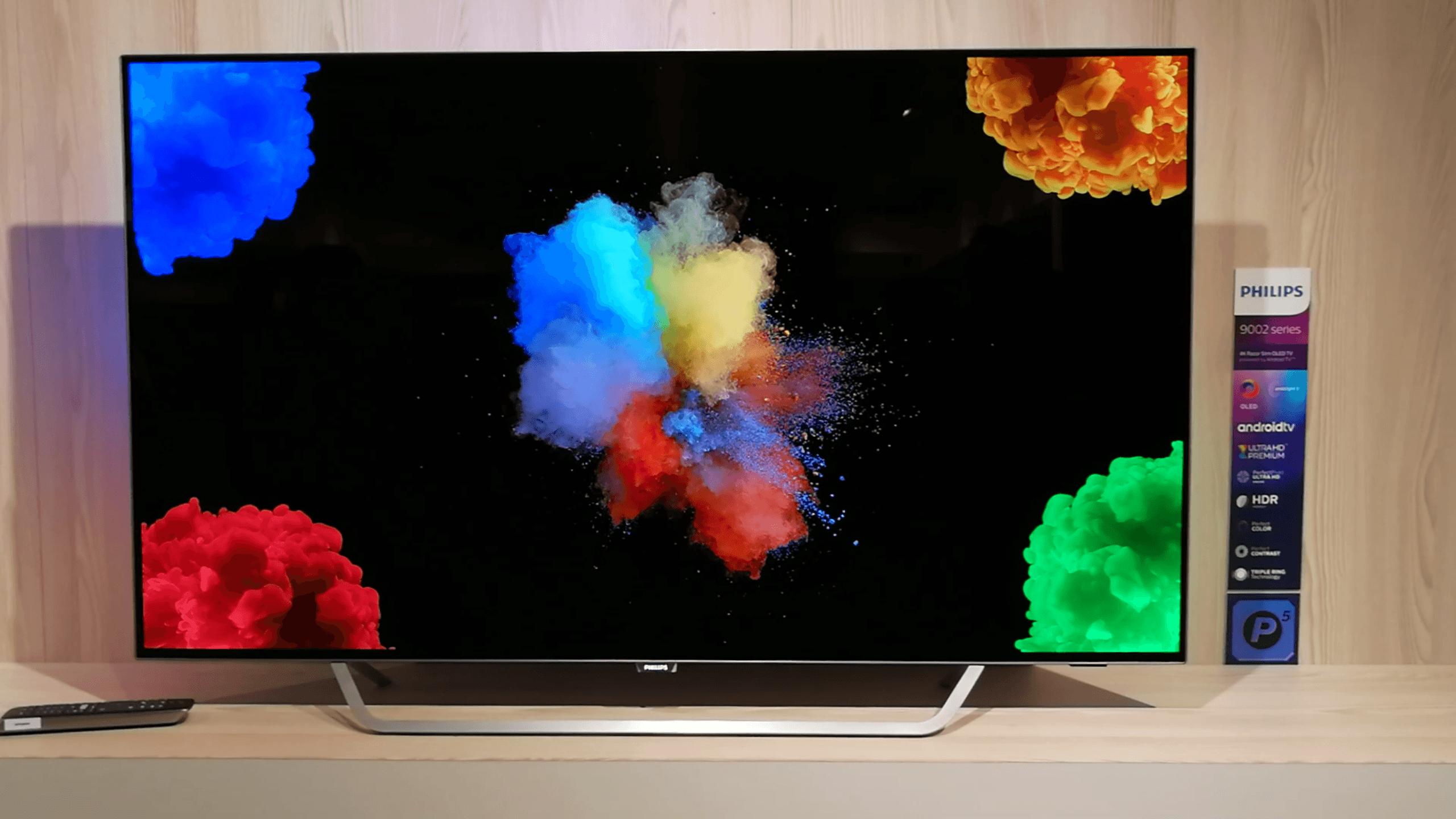 philips 55pos9002 nous avons vu la nouvelle android tv oled de tp vision frandroid. Black Bedroom Furniture Sets. Home Design Ideas
