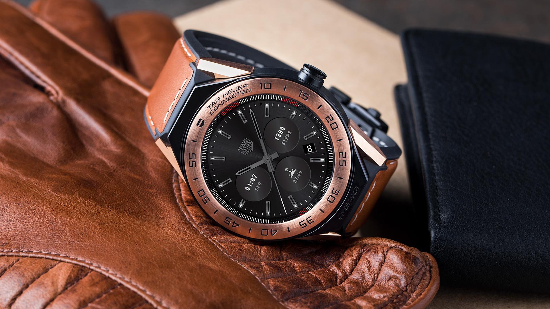 Tag Heuer présente Connected Modular 45, une montre connectée de luxe