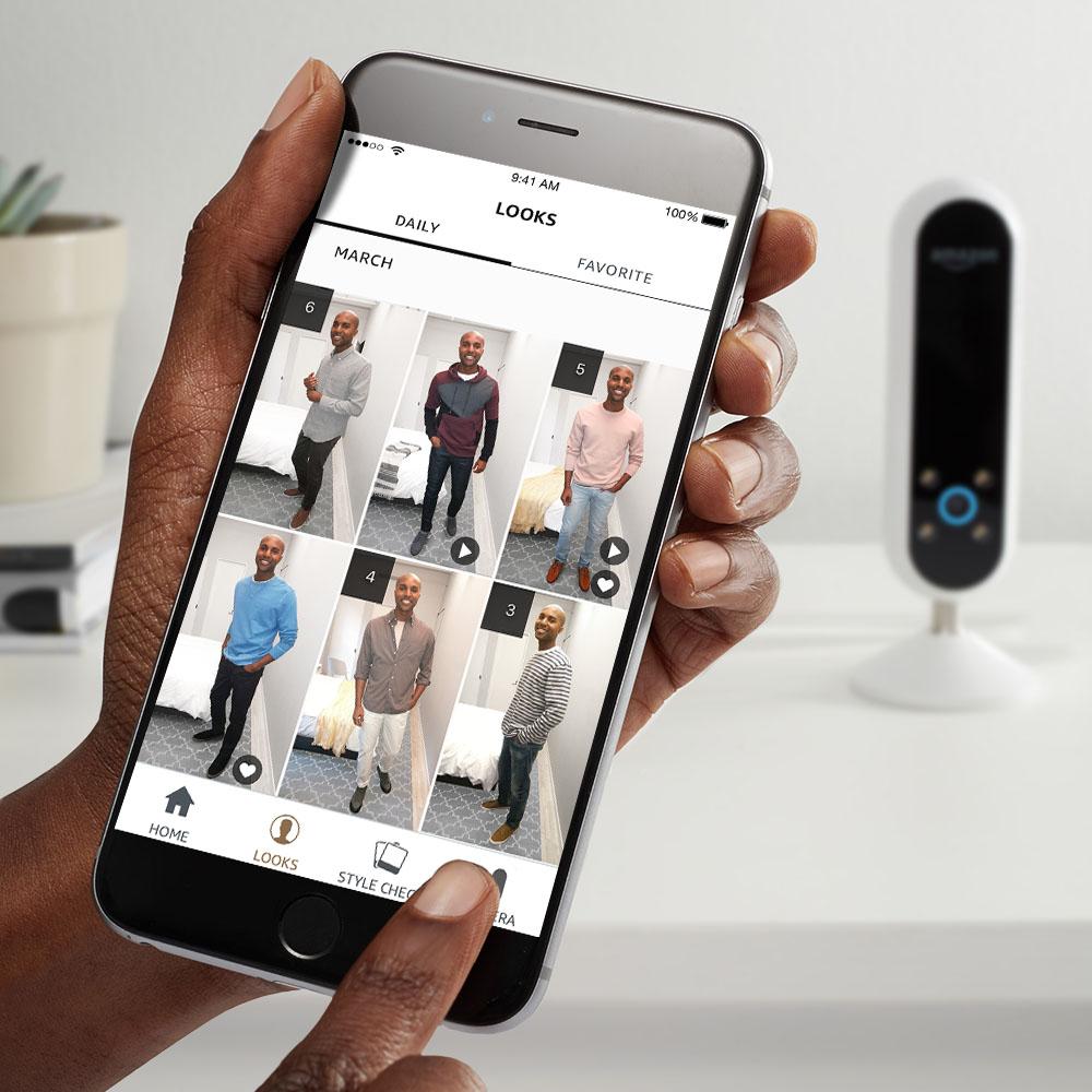 Camera 360 Degres >> Echo Look : pourquoi Amazon veut devenir la fashion police - FrAndroid