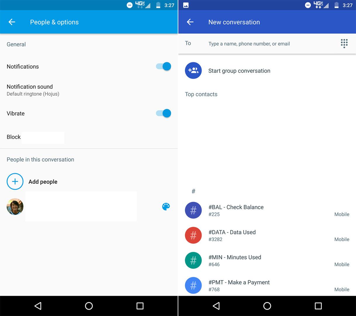 Android Messages : la nouvelle version simplifie les conversations de groupe