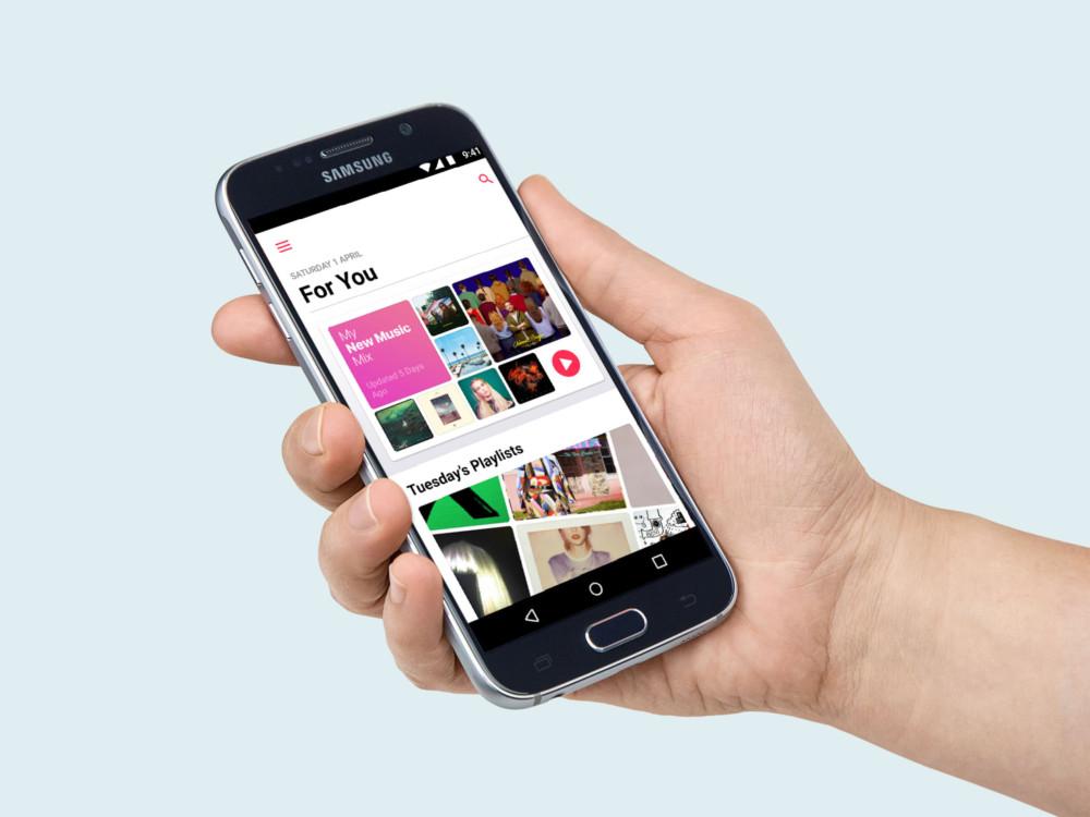 Apple Music sur Android récupère un thème sombre et les paroles en karaoké